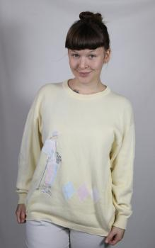 Vintage Unisex Pullover, Pringle Sports, Made in Scotland